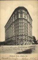 Atlanta GA Piedmont Hotel c1905 Postcard