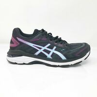Asics Womens GT 2000 7 1012A146 Black Skylight Running Shoes Lace Up Size 8.5
