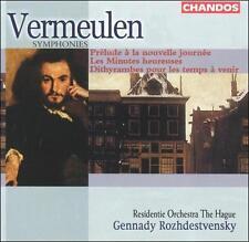 Symphonies 2 6 & 7 by Vermeulen, Rozhdestvensky, Residente Orch Hague