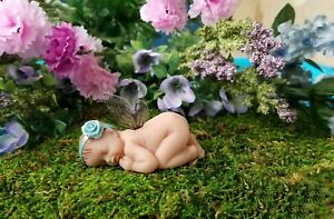 Baby Fairy/ Fairy Cake Topper /Figurine/ Collectable/ Fairy Garden