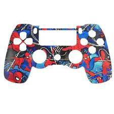 "Custom PS4 V1 Controller ""Spider-man 2.0"" Front Shell (Matte Finish)"