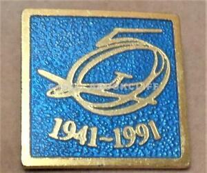 ROYAL Canadian Air Cadets 50th Anniversary Pin Lamond 1991