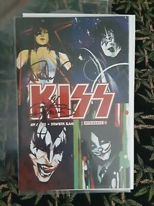 Dynamite Comics #1 KISS AUTOGRAPHED / SIGNED by Gene Simmons & Paul Stanley