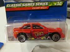 Hot Wheels Escort Rally Classic Games Series Red