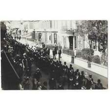 More details for st helier jersey, large procession passing david place, rp postcard unposted