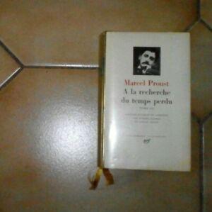 PROUST. A la recherche du temps perdu. T3. Nrf Gallimard. Pléiade. 1969.