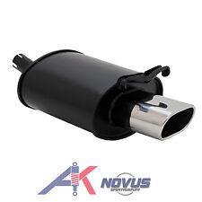 Sport Auspuff Schalldämpfer 135x75mm mit ABE für MERCEDES SLK R170 200 230 K