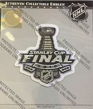 2018 STANLEY CUP FINAL JERSEY PATCH NHL VEGAS GOLDEN KNIGHTS WASHINGTON CAPITALS