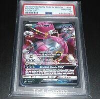 PSA 10 GEM MINT Hoopa GX 96/181 SM Team Up HOLO RARE Pokemon Card