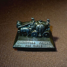1939 Cinderella Frocks for Girls 25th Anniversary Paperweight Pumpkin Carriage