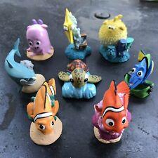 New listing Disney / pixar Finding Nemo Pvc Cake Topper Figures Lot Of 8