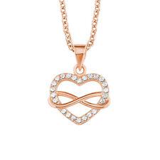 s.Oliver Damen Halskette 2020988 Herz u. Unendlichkeit Infinity Sterling Silber