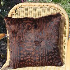 Cojines de Piel Almohada kanin impreso 40x40 Cojín Funda afelpado