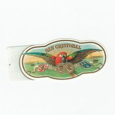 1 cigar band San Cristobal - Parrot