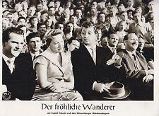 Fröhliche Wanderer (Kinofoto '55) - Helen Vita / Gunther Philipp / Rudolf Schock
