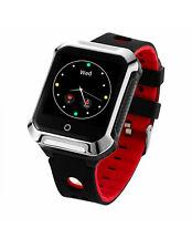 Reloj GPS de Actividad y SOS Muvit iO Health Senior negro/rojo
