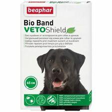 Beaphar Floh- und Zeckenhalsband für Hunde 4 Monate Schutz Einstellbar Halsband