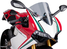 PUIG RACING SCREEN SMOKE DUCATI PANIGALE Fits: Ducati 1199 Panigale,1199 Panigal