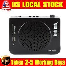 Portable Aker MR2800 PA Voice Amplifier Audio Loudspeaker RMS16W Power Output