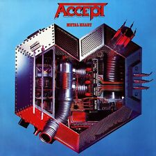 Accept-Metal Heart Vinyl LP Cover Sticker or Magnet