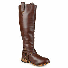 New Journee Collection Brown Tall Riding Boots Women's Boots Size 10