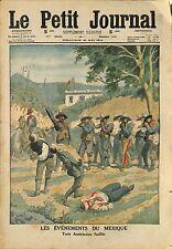 Mexican Revolution Revolucion mexicana THREE AMERICAN Were Killed 1914