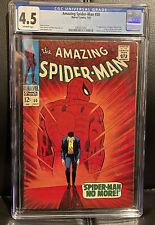 Amazing Spider-Man #50 - Marvel 1967 CGC 4.5 1st Appearance of Kingpin!