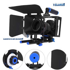 Camera Rod Rig Video Cage Top Handle Grip Follow Focus Matte box for DSLR Canon