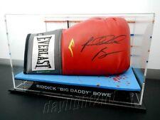 "✺Signed✺ RIDDICK ""BIG DADDY"" BOWE Boxing Glove COA UFC MMA"