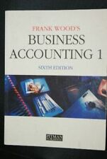 Business Accounting: v.1: Vol 1, Wood, Frank, Very Good, Paperback