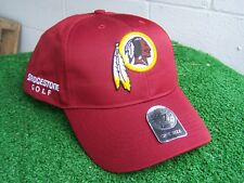 Bridgestone Golf Washington Redskins Red Golf Hat Cap NFL Team Adjustable NEW