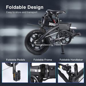 E-BIKE Elektrofahrrad 14 Zoll Ebike 36V LI-ION 10Ah AKKU Klappbarer E Citybike