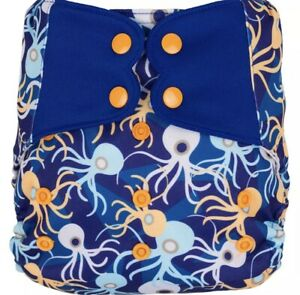 Double Popper Water Proof Nappy Covers/Wraps - Stay Dry Insert Included