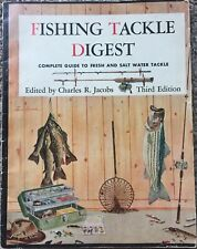 Fishing Tackle Digest: Fresh & Salt Water Tackle (1952 Paperback 3rd Edition)