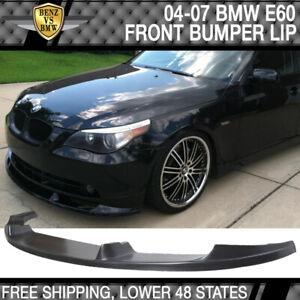 Fits 04 05 06 07 BMW E60 H-Style Front Bumper Lip PU