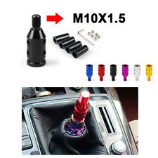 Universal Car Aluminum Shift Knob Adapter For Non Threaded Shifters 10x1.5mm