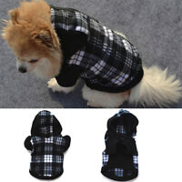 Pet Dog Hoodie Coat Jacket Puppy Cat Winter Warm Hooded Costume Apparel Pretty Z