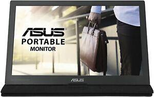 ASUS MB169C+ 15.6 Inch USB Type-C Portable Monitor, Full HD 1920 x 1080, IPS