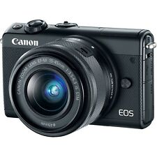 Canon EOS M100 24.2MP Digital Camera with F-M IS STM 15-45mm and...