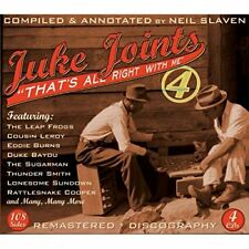 Juke Joints 4 Thats All Right With Me [CD]