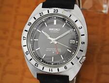 Seiko Navigator Timer Ref 6117 8000 Automatic Vintage Watch 38mm 078