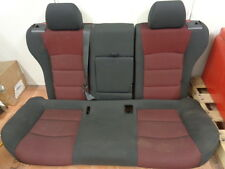 11 12 13 14 15 Chevy Cruze Black Red Cloth Rear Seat Back & Bottom Cushions OEM
