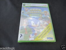 Microsoft Xbox 360 Game Sega Superstar Tennis Brand New Sealed Promo Version
