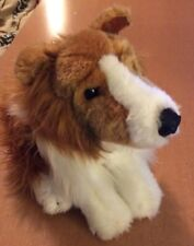 Animal Alley Collie Puppy Dog Plush 10""