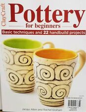 Clay Craft Pottery for Beginners Handbuild Projects 2019  FREE SHIPPING CB