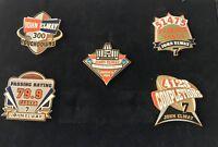Denver Broncos John Elway 2004 Hall of Fame Commemorative LE 5 Pin Set HOF