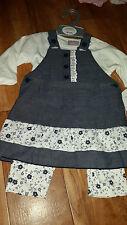 Denim Floral Clothing (0-24 Months) for Girls