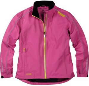 Madison Protec Womens Waterproof Cycling Jacket. Berry .Stock Clearance. RRP £50