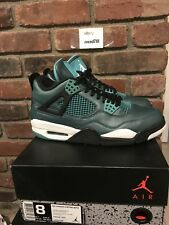 Air Jordan 4 Retro Teal Size 8 Preowned