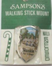 WALKING STICK BADGE / MOUNT / STOCKNAGEL SAMPSONS SHANKLIN OLD VILLAGE